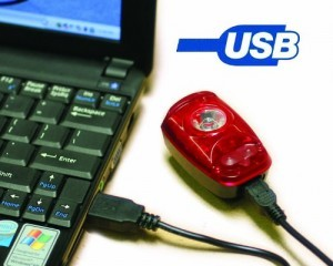 usb rechargeable taillight